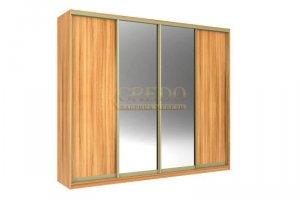 Шкаф-купе с зеркалом - Мебельная фабрика «Кредо»