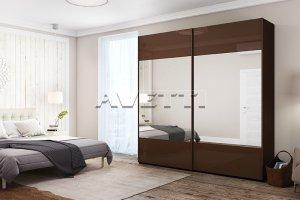 Шкаф-купе с зеркалом - Мебельная фабрика «Avetti»