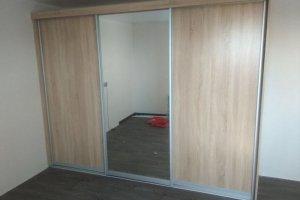 Шкаф-купе с зеркалом - Мебельная фабрика «SamSam»