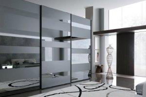 Шкаф-купе с зеркалом А303 - Мебельная фабрика «MLINE»