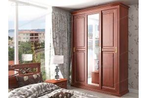 Шкаф-купе с зеркалом Lirona 6130 - Мебельная фабрика «Фабрика натуральной мебели»