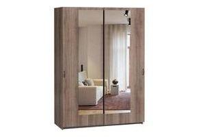 Шкаф-купе с зеркалом ЛОФТ-1 - Мебельная фабрика «Woodcraft»