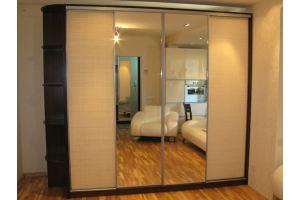 Шкаф-купе с зеркалом в гостиную - Мебельная фабрика «Норд-мебель»