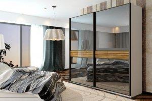 Шкаф-купе серии DeLux 3920 - Мебельная фабрика «Роникон»