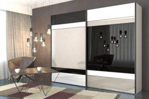 Шкаф-купе серии DeLux 3923 - Мебельная фабрика «Роникон»
