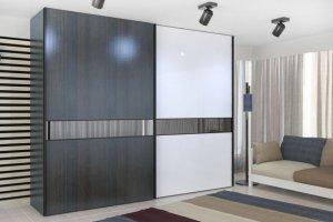 Шкаф-купе серии DeLux 3925 - Мебельная фабрика «Роникон»