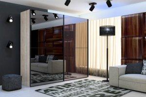 Шкаф-купе серии DeLux 3926 - Мебельная фабрика «Роникон»