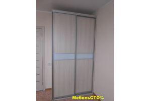 Шкаф-купе со стеклом - Мебельная фабрика «Мебель СТО%»