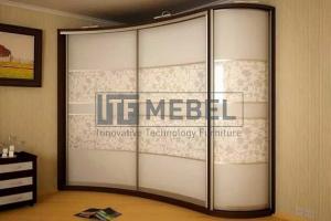 Шкаф-купе со вставками 1900 - Мебельная фабрика «ITF Mebel»