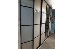 Шкаф-купе стекло Кашемир - Мебельная фабрика «Алгоритм»