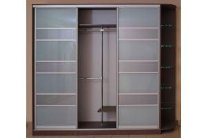 Шкаф-купе стекло матовое - Мебельная фабрика «ARC мебель»