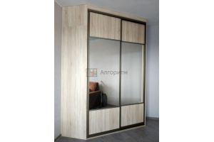 Шкаф-купе светлый угловой - Мебельная фабрика «Алгоритм»