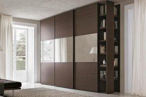 Шкаф-купе темный Камилла - Мебельная фабрика «LEVANTEMEBEL»