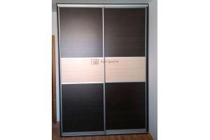 Шкаф-купе темный ЛДСП - Мебельная фабрика «Алгоритм»