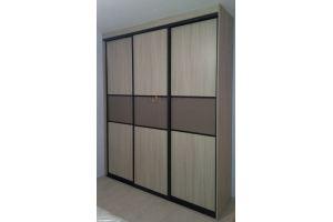Шкаф-купе трехдверный ЛДСП - Мебельная фабрика «Алгоритм»