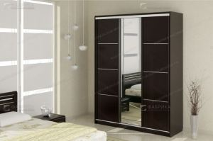 Шкаф-купе трехстворчатый Okaeri 42 - Мебельная фабрика «Фабрика натуральной мебели»