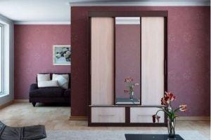 Шкаф-купе трехстворчатый Рондо - Мебельная фабрика «Арива»