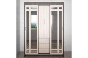 Шкаф-купе трехстворчатый с зеркалом - Мебельная фабрика «Ваша мебель»