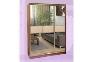 Шкаф-купе трестворчатый - Мебельная фабрика «Buena»