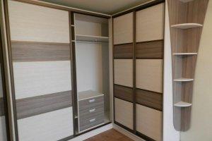 Шкаф-купе угловой - Мебельная фабрика «Santana»