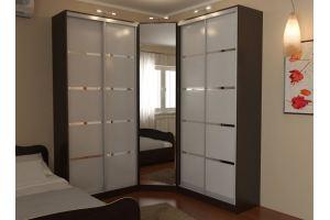 Шкаф-купе угловой 4 - Мебельная фабрика «Алекс-Мебель»