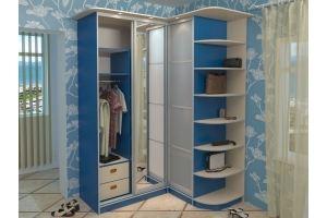 Шкаф-купе угловой 5 - Мебельная фабрика «Алекс-Мебель»