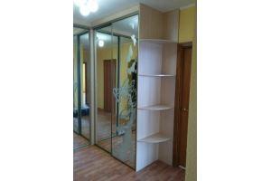 Шкаф-купе угловой с консолью - Мебельная фабрика «АС.Мебель»