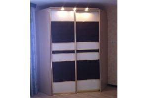 Шкаф-купе угловой с подсветкой - Мебельная фабрика «Гранд Мебель»