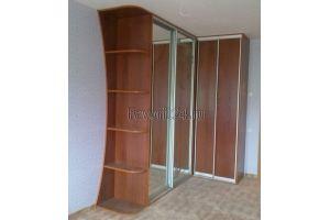 Шкаф-купе угловой с зеркалом - Мебельная фабрика «Фаворит»