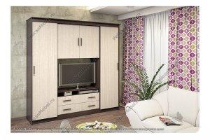 Шкаф-купе Уют-4 - Мебельная фабрика «Пеликан»
