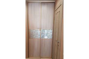 Шкаф-купе узкий встроенный - Мебельная фабрика «Алгоритм»