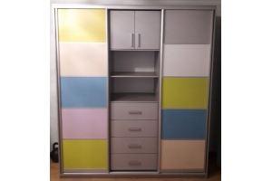 Шкаф-купе в детскую комнату - Мебельная фабрика «БонусМебель»