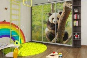 Шкаф-купе в детскую с рисунком - Мебельная фабрика «Вся Мебель»