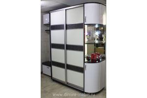 Шкаф-купе в прихожую - Мебельная фабрика «Dimira»