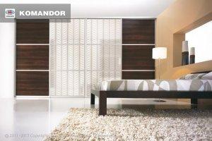 Шкаф-купе в спальню  067 - Мебельная фабрика «Командор»