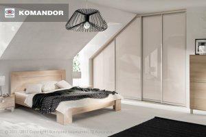 Шкаф-купе в спальню  069 - Мебельная фабрика «Командор»