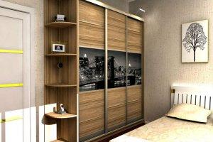 Шкаф-купе в спальню 2 - Мебельная фабрика «Проспект мебели»