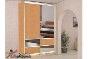 Шкаф-купе в спальню 2 - Мебельная фабрика «Меркурий»