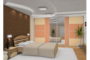 Шкаф-купе в спальню - Мебельная фабрика «Нижнетагильская мебельная фабрика»