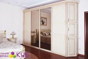 Шкаф-купе в спальню - Мебельная фабрика «КУБ»