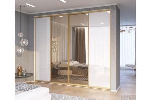 Шкаф-купе в спальню - Мебельная фабрика «Люкс-С»