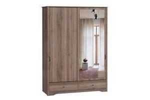 Шкаф-купе в спальню Лофт-2 - Мебельная фабрика «Woodcraft»