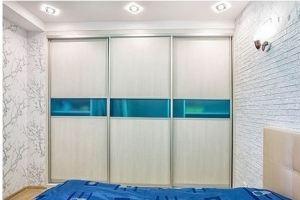 Шкаф-купе в спальню светлый - Мебельная фабрика «Подольск»