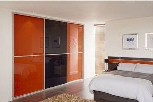 Шкаф-купе в спальню встроенный - Мебельная фабрика «Подольск»