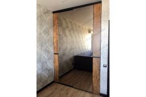 Шкаф-купе в стиле Лофт - Мебельная фабрика «KL-Мебель»