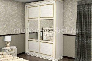 Шкаф-купе Венеция 1 - Мебельная фабрика «Муром-мебель»