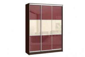 Шкаф-купе ВЕРСАЛЬ 3-х дверный (плёнка) - Мебельная фабрика «Континент»