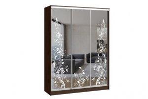 Шкаф-купе ВЕРСАЛЬ 3-х дверный (зеркало) - Мебельная фабрика «Континент»