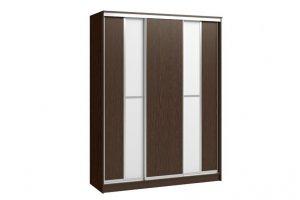 Шкаф-купе Версаль 3-х дверный (стекло) - Мебельная фабрика «Континент»