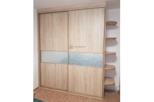 Шкаф-купе встроенный 1758-2 - Мебельная фабрика «Алгоритм»